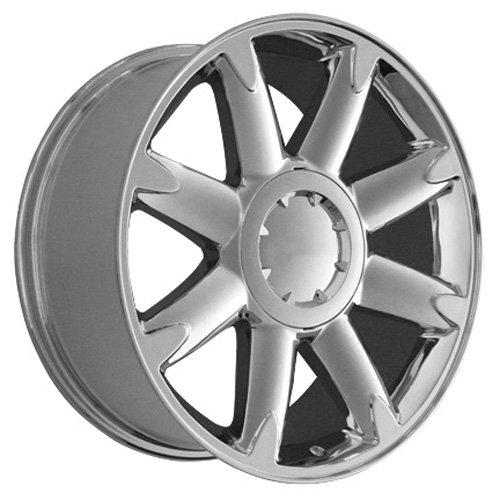 20x8.5 Wheel Fits GM Trucks and SUVs - GMC Yukon Denali Style Chrome Rim, Hollander 5304 by OE Wheels LLC (Image #3)
