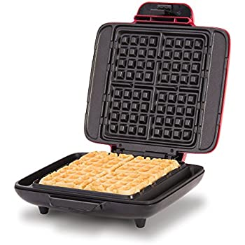 DASH No Mess Belgian Waffle Maker: Waffle Iron 1200W + Waffle Maker Machine For Waffles, Hash Browns, or Any Breakfast, Lunch, & Snacks with Easy Clean, ...