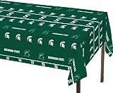 Creative Converting Michigan State Spartans Plastic Table