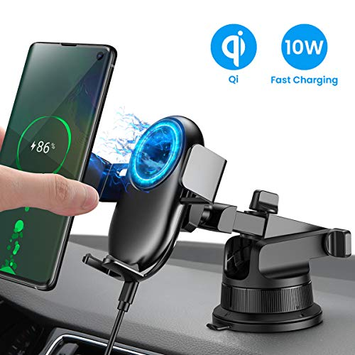 Wireless Car Charger Mount, Automatic Cl