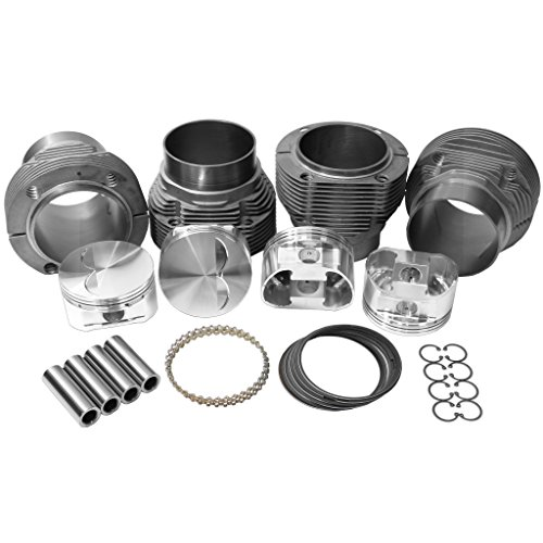AA Performance Products 98mm Machine-in Aluminum Biral w/JE Forged Piston Kit