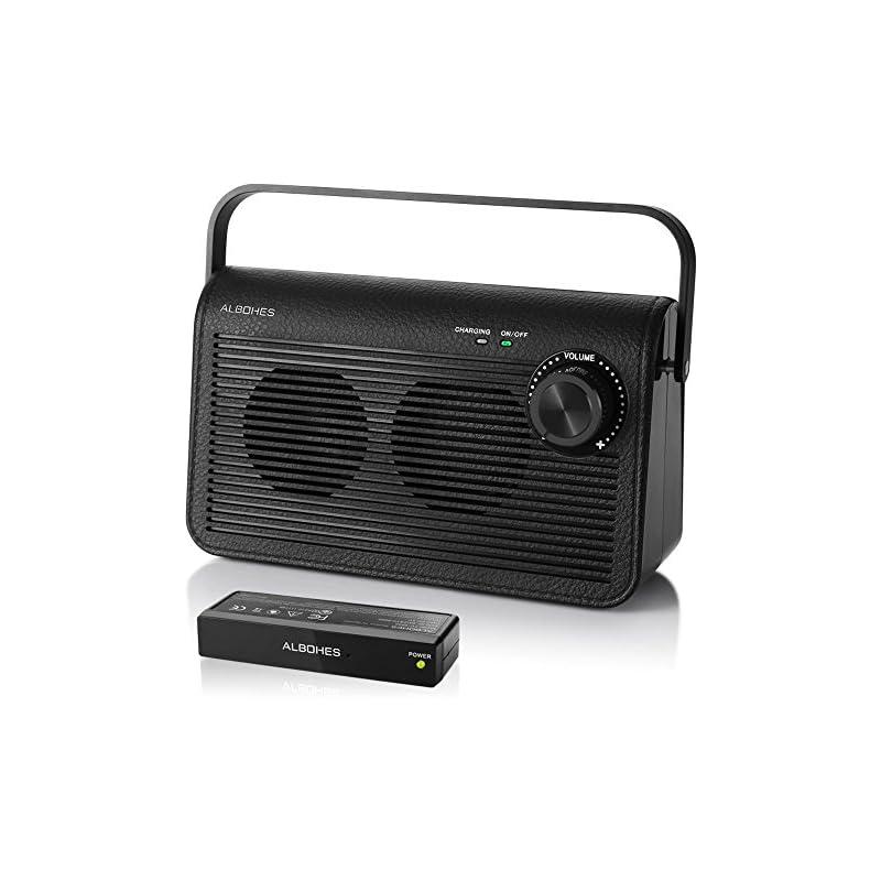 Albohes Wireless TV Speakers Hard Hearin