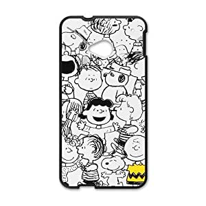 DAZHAHUI Cosy snoopy family Cell Phone Case for HTC One M7