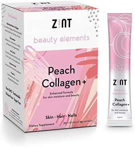 Zint Collagen Powder Peptides Beauty product image