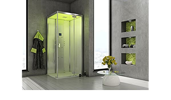 Baño Hoesch Vapor senseperience 120 x 100 Vapor ducha con ducha bañera pared Versión: Amazon.es: Bricolaje y herramientas