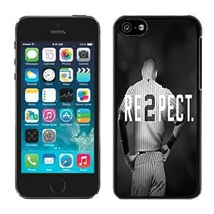 Derek Jeter RE2PECT New York Yankees Black Durable Hard Shell iPhone 5C Phone Case