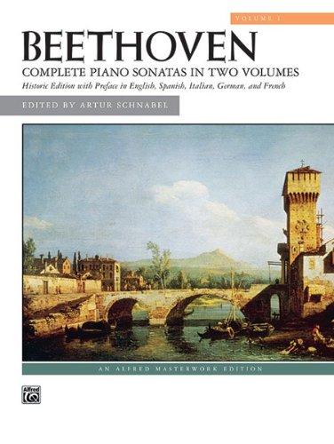 Alfred 00-25863 Sonatas- Volume 1 - Music Book   B0039OL24C