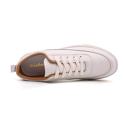 Bestow Zapatillas de Deporte Casuales Sólidos de Tabla Plana Mocasines de Encaje de Color sólido para Hombres Planos Zapatos Casuales: Amazon.es: Ropa y ...