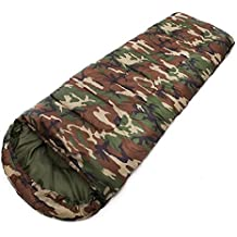 LJ&L Outdoor 1kg camping camouflage envelopes with cap sleeping bags, light weight ultra-light compact bags, outdoor leisure sleeping bags