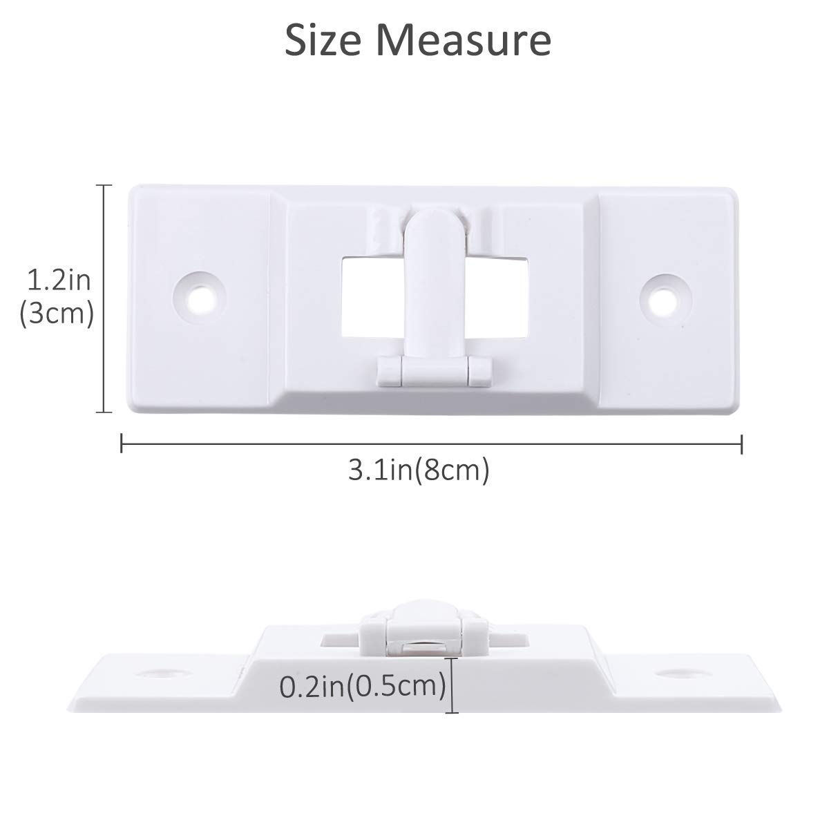 Keep Light Switch ON or Off AMZNOVA Wall Switch Guards Plate Covers Protects Your Lights or Circuits from Accidentally Being Turned on or Off 2 Pack White Light Switch Guard