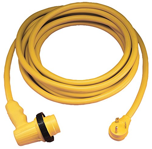 ParkPower 30RPCRV 125 V Marinco Amp, 125V 30 Ft Right Angle Cordset