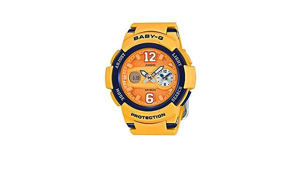 Casio Reloj de Pulsera de Mujer Baby-G analógico y Digital, de Cuarzo, Correa de Resina BGA-210 - 4BER: Amazon.es: Relojes