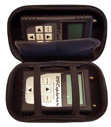 Modulation Analyzer - RF Explorer 6G Combo + Signal Generator with Black EVA Case & Black Protection Boot