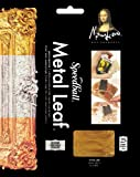 Speedball Mona Lisa Genuine Copper Leaf, 25 Sheet Pack