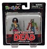 Walking Dead Minimates Series 2 Mini Figure 2-Pack Michonne & Zombie