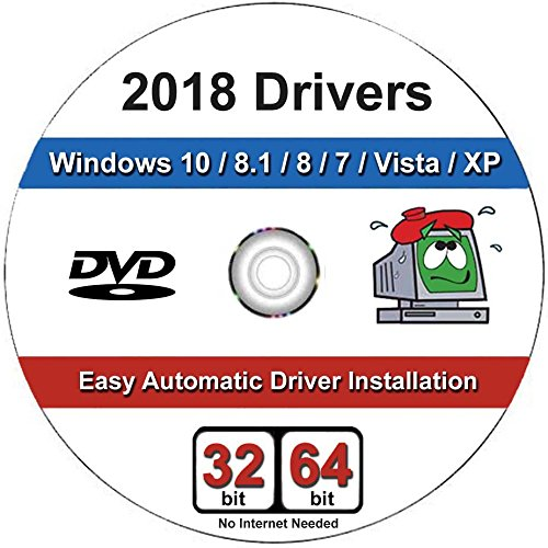 Windows 2018 Driver DVD Software For Windows 10, 8.1, 8, 7, Vista, XP in 32/64 bit For Most PCs/Laptops Acer, Dell, HP, IBM, Gateway, Toshiba, Lenovo, Asus, E-Machines and Much - Windows Xp Emachines