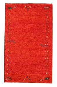 Alfombra Gabbeh Indo 95x158 Alfombra Oriental
