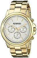 Sperry Top-Sider Men's 10015150 Halyard Analog Display Japanese Quartz Gold Watch from Sperry Top-Sider Watches MFG Code