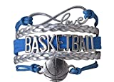 Basketball Bracelet- Charm Bracelet- Basketball Jewelry For Girls- Perfect Basketball Gift