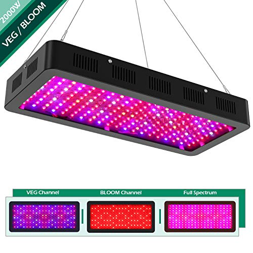 1500 Watt Led Grow Light Full Spectrum With Veg Bloom Channel Yehsence Led Growing Light Fixtures For Indoor Plants With Daisy Chained Design And Triple Chips Led 15w Led Buy Online In Croatia At Desertcart Hr