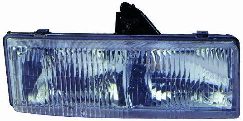 For 1995 1996 1997 1998 1999 2000 2001 2002 2003 2004 2005 Chevrolet Chevy/Gmc Astro | Safari Vn Van Headlight Headlamp Assembly Driver Left Side Replacement Capa Certified GM2502136