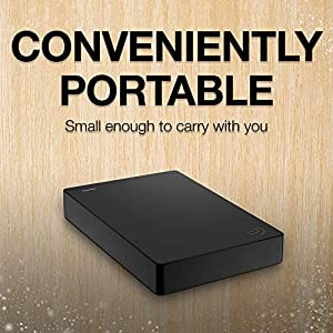 Seagate Portable 4TB External Hard Drive HDD – USB 3.0 for PC Laptop and Mac (STGX4000400)