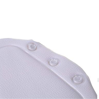 Hogar y jard/ín Ba/ño Ba/ñera Almohada Ba/ñera Ba/ñera Reposacabezas Ventosa Impermeable Ba/ño Almohadas Productos de ba/ño Blanco Ogquaton Almohada de ba/ñera duradera