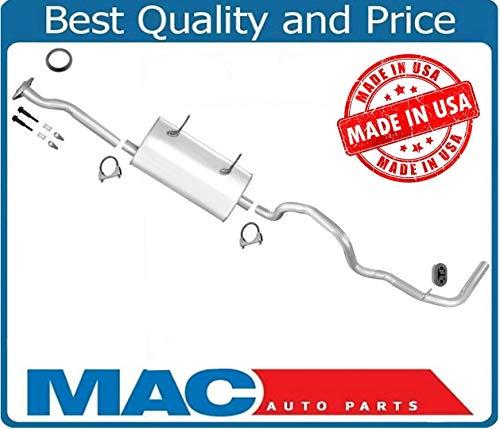 (Mac Auto Parts 38963 Ford Ranger 2.3L 3.0L 4.0L 1 Inch W/B Muffler Exhaust Pipe System)