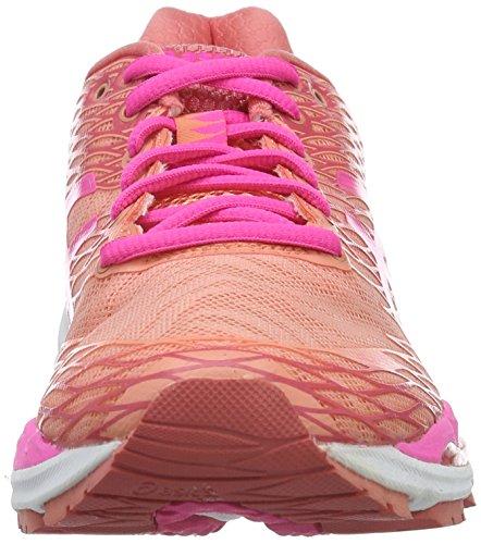 Running Guava Multicolor Asics S W Pink Gel Melba Nimbus 18 Zapatillas de Hot Mujer para Peach RA0qvRxZ