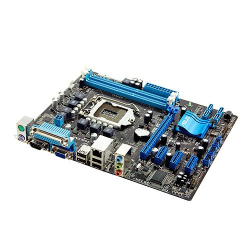 ASUS LGA 1155 - H61 - EPU, UEFI BIOS and Anti-Surge Protection - mATX Intel H61(B3) Micro ATX DDR3 1333 Motherboards (P8H61-M LX)