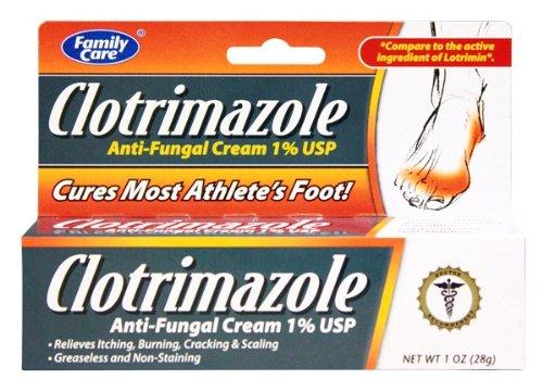 [3 Pack] USP Clotrimazole crème anti-fongique 1% Comparer Lotrimin