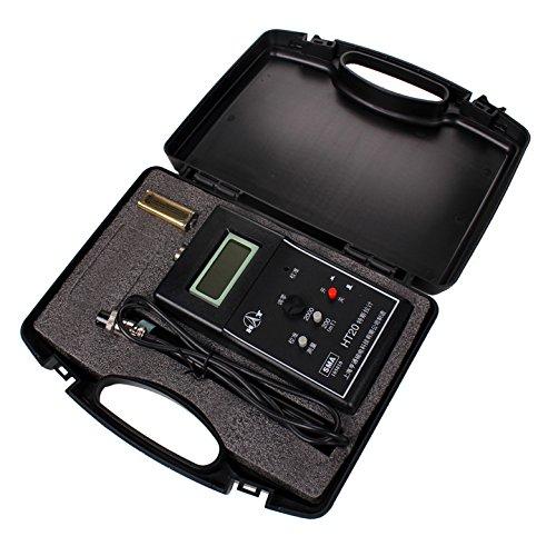 Gauss Meter Handheld Tesla Meter Fluxmeter Surface Magnetic Field Tester (Density Meter)