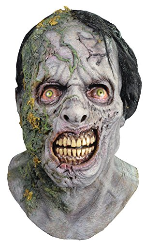 UHC Men's the Walking Dead Moss Walker Zombie Scary Party Latex Halloween Mask