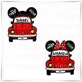 Personalized Disney Inspired CARS Cruise Magnet. Custom Disney Cruise Mickey Magnet. Handmade Stateroom Door Decoration.