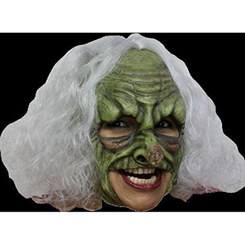 - Green Witch Deluxe Chinless Mask