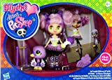 (US) Blythe Loves Littlest Pet Shop - Colourfully Cute Collection - Purple Ribbons & Twirls - #B43 Blythe & #2411 Swan and Accessories!