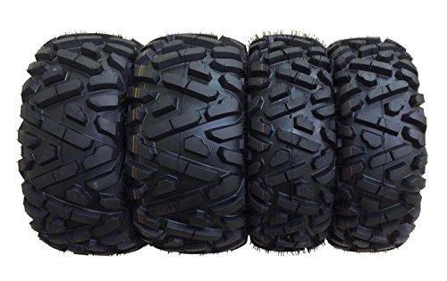(Set of 4 WANDA ATV Tires AT 26x9-12 Front & 26x11-12 Rear /6PR P350-10166/10168 …)