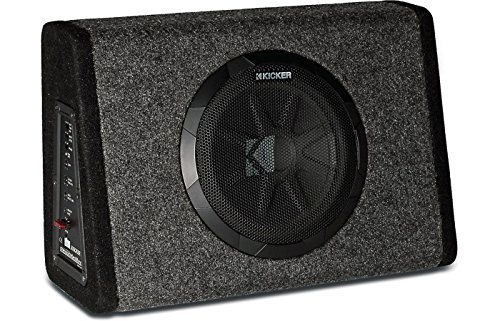 "Kicker 11PT10CA Powered 10"" Truck Sub Box 90W Amp (Certified Refurbished)"