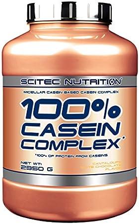 Scitec Nutrition Casein Complex Proteína, Melón de Chocolate Blanco - 2350 g