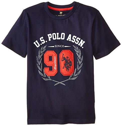 Navy Felt Applique T-shirt - 2