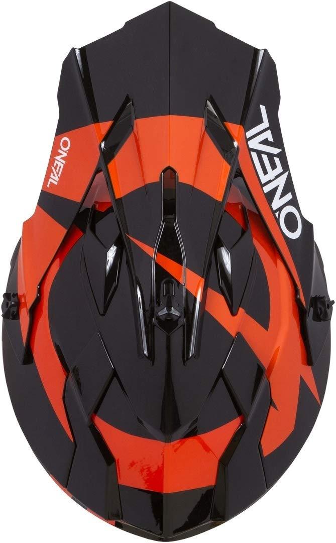 Gr/ö/ße L 0200-SAdult ONeal 2Series RL Slick Motocross Helm MX Enduro Gel/ände Quad Cross Motorrad Bike Schutz Farbe Schwarz Orange