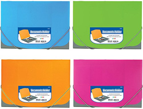 BAZIC Two Tone Letter Size Document Holder w/ Elastic Band Case Pack 72 Computers, Electronics, Office Supplies, Computing