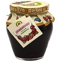杰姆 Rose petals jam 草莓酱 果酱面包酱烘焙酱(果肉型)360g(保加利亚进口)