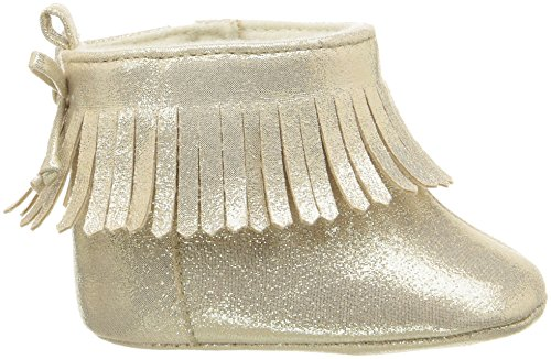 Pictures of ABG Baby Girls' Fringe Boot W/Bow GNB55395AZ2 Gold 3