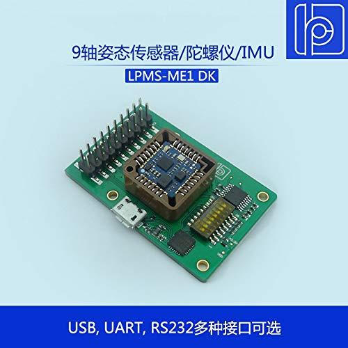 FINCOS LPMS-ME1 DK Miniature 9 Axis Attitude Sensor/Gyroscope/IMU Inertial Measurement Module - (Color: RS232 Output)