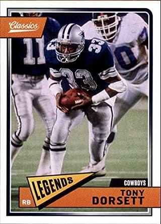ac7a9e428a1 2018 Classics Football #120 Tony Dorsett Dallas Cowboys Legend Panini NFL  Card