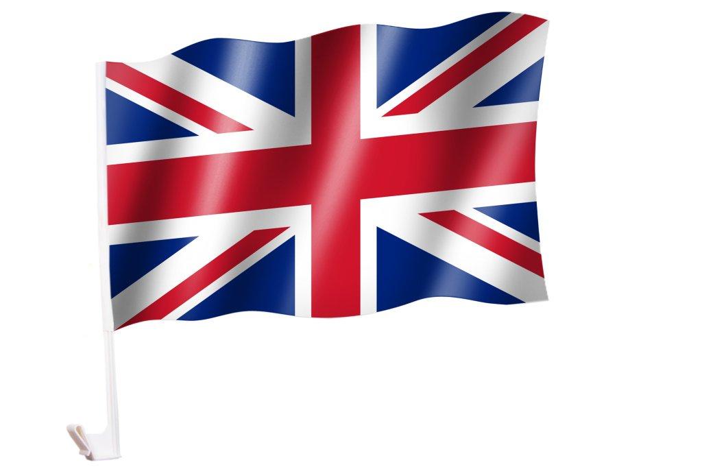 UNITED KINGDOM UK Vereinigtes K/önigreich UNION JACK Autoflagge//Autofahne GRO/ßBRITANNIEN