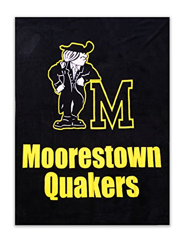 - Sam Thevanayagam Moorestown New Jersey Quakers Fleece Throw Blanket- 54 x 69 inches Oversized Town Pride Blankets