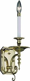 product image for Framburg 7661 PS 1-Light Kensington Sconce, Polished Silver