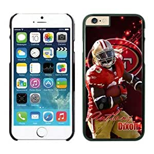 NFL Iphone 5/5S an Francisco 49ers Anthony Dixon Black Case Cover For Apple Iphone 5C Cell Phone Case ONXTWKHC3804